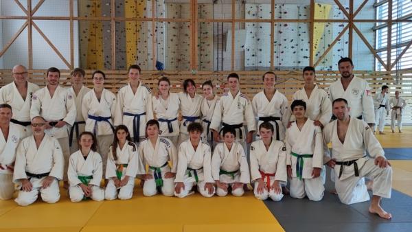 Les Judokas du Budokan en stage dans le Jura!
