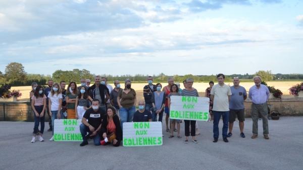 Vent de révolte à Gigny sur Saône face à la menace d'éoliennes