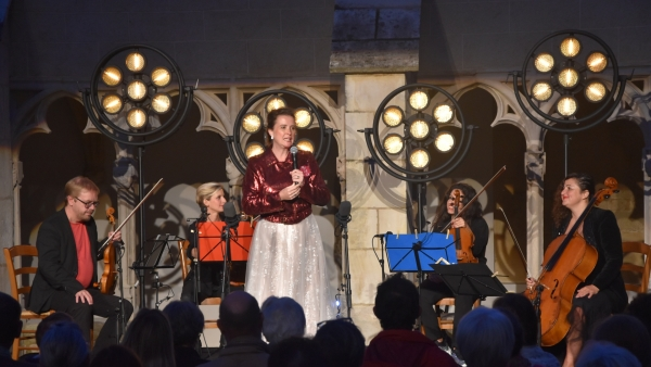 La saison du cloître se termine en apothéose avec Diana Higbee et le quatuor Musica