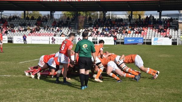 5e  journée de Fédérale  2 : RTC  31 - Grand Dole Rugby 25, les chalonnais se rassurent