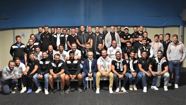 Soirée du Rugby Tango Chalonnais : Les partenaires et les  joueurs ont été mis à l'honneur