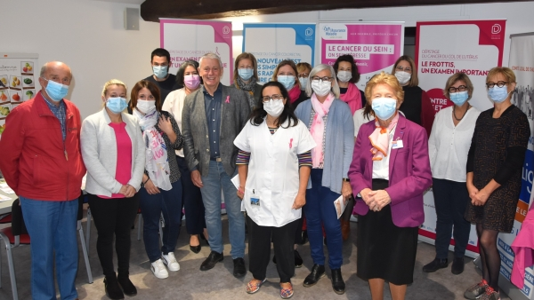 Forum de la journée des dépistages des cancers féminins réussi à  l'Espace Santé Prévention