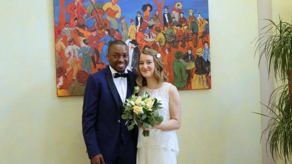 Félicitations à Mélanie et Waeïl