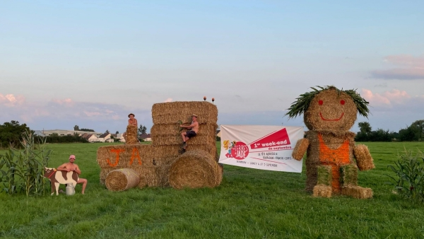 Le clin d'oeil des Jeunes Agriculteurs du Chalonnais pour la fête de l'Agriculture