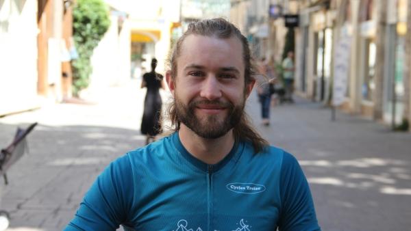 Un Chalonnais participe à la course cycliste Transiberica