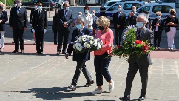 Cérémonie à la mémoire des victimes des crimes racistes et antisémites à Chalon-sur-Saône