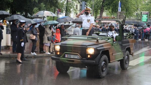 Retour en images sur le défilé motorisé du 14 juillet à Chalon-sur-Saône