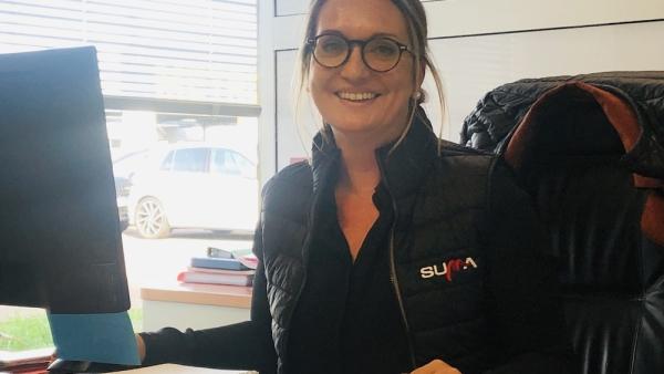 PORTRAIT– Avec aisance et conviction, Célia Laumain manage 40 personnes chez SUMA Chalon