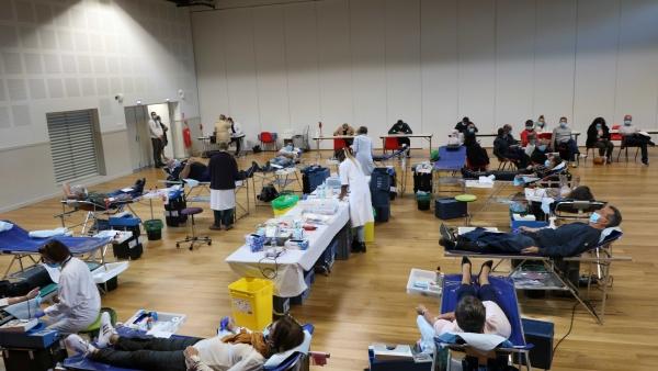 La collecte du 5 Octobre prolongée d'une demi-heure à Saint Rémy.