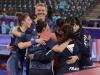 L'équipe de France de tennis de table féminin entre dans l'Histoire