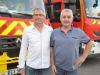 La grande famille des sapeurs-pompiers s'est réunie vendredi soir à Chalon-sur-Saône