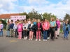 Belle mobilisation pour la marche rose organisée par le CCAS de Châtenoy le Royal Mercredi 6 Octobre.