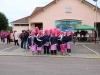Un peu plus de 100 personnes pour la marche rose à Crissey