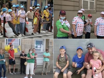 TOUR DE FRANCE - A Autun, un public en force pour le passage du mythique tour cycliste