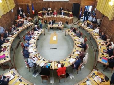 Jour de rentrée pour les conseillers départementaux de Saône et Loire