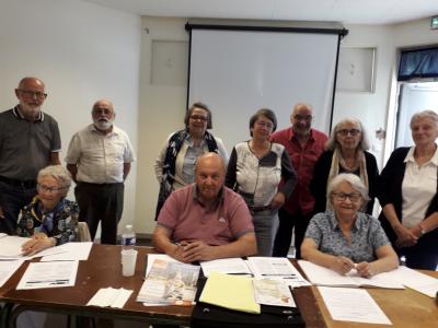 Reprise de réunion en présentiel pour les retraités CFDT de Saône et Loire