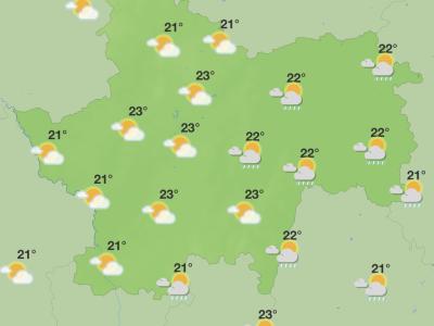 Encore quelques jours à patienter en Saône et Loire pour voir apparaître un temps estival