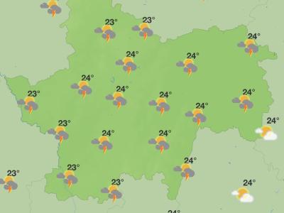 Un week-end qui s'annonce orageux en Saône et Loire