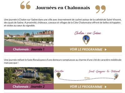 Des idées de sorties en Saône et Loire pour les vacances d'été ?