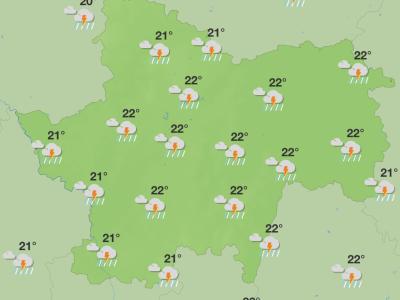 En Saône et Loire, météo capricieuse pour quelques jours... avant ...