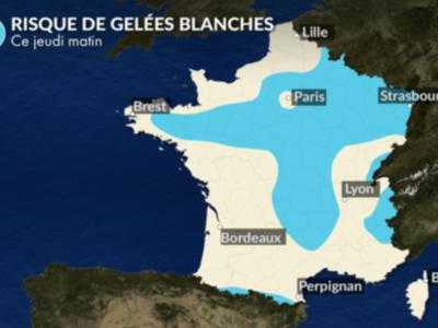 Premières gelées blanches en Saône et Loire ce jeudi ?