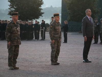 Le lycée militaire d'Autun rend hommage à son élève décédé