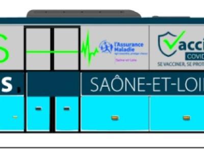4 nouveaux rendez-vous pour le Vacci'Bus en Saône et Loire... mais attention sur rendez-vous