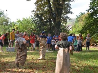 Week-end de rentrée pour les scouts et guides de France de Chalon