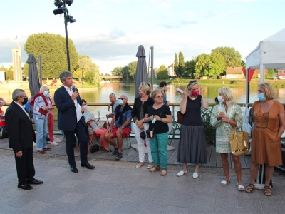 Inauguration officielle de la Saône en guinguettes au Port-Villiers