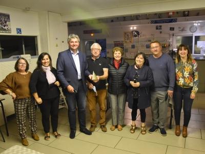 Visite de courtoisie de Gilles Platret à l'Association Portugaise Chalonnaise