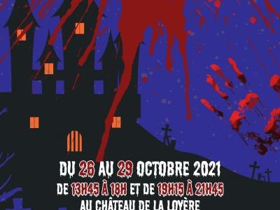 Pour Halloween que diriez-vous de passer dans le château des frissons entre le 26 et le 29 octobre ?