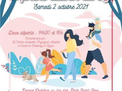 Samedi 2 octobre, venez nombreux marcher pour une bonne cause !