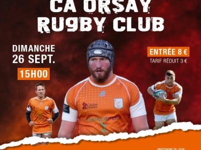 Dimanche, venez encourager le Rugby Tango Chalonnais contre Orsay