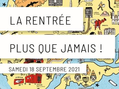 Le 18 septembre, venez nombreux au Port Nord participer à l'événement 'La rentrée plus que jamais'