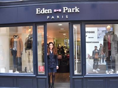 'Eden Park' : La marque au petit nœud papillon rose, c'est juste le rendez-vous avec l'élégance.