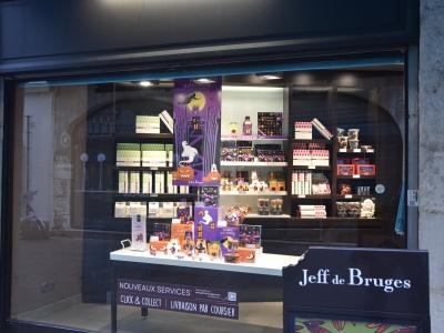 Chez Jeff de Bruges, les chocolats d'Halloween sont arrivés