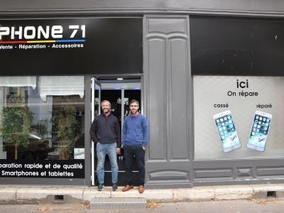 « Phone 71 » à Chalon-sur-Saône : téléphones, smartphones, tablettes… plus d'une décennie au service des chalonnais et grands chalonnais