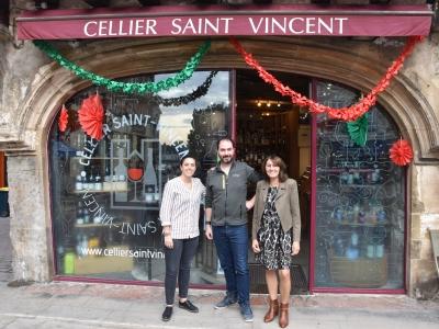 Le Cellier Saint Vincent, votre cave du centre historique de Chalon