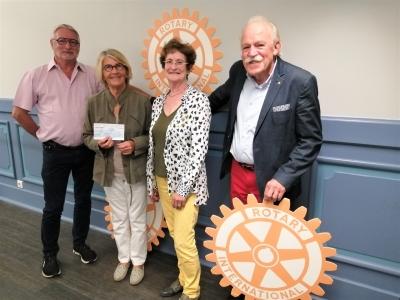 Le Rotary Chalon Saint-Vincent soutient à nouveau PEL'MEL