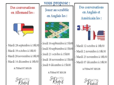 Les ateliers de langue du Comité de Jumelage de Chalon-sur-Saône