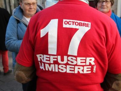 Retour sur la marche pour le refus de la misère samedi à Chalon-sur-Saône