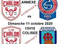 ELAN CHALON - Deux matchs pour les rouges et blancs en basket fauteuil