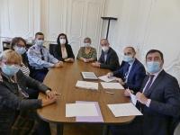 État, Justice, Police, Gendarmerie, service d'enquête et France Victimes 71 signent pour le BAR (Bracelet Anti-Rapprochement)