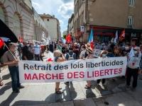 300 personnes ont manifesté contre l'extrême droite et pour les libertés à Macôn