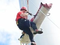 Exercice périlleux à 114 mètres pour les sapeurs pompiers de Saône et Loire
