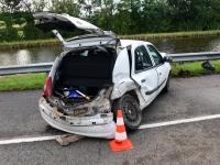 Un blessé dans une collision route du Canal