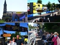 TOUR DE FRANCE - Le Creusot s'est mis en mode tour de France avenue du Stade Jean Garnier
