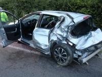 Un blessé miraculeux dans une  sortie de route