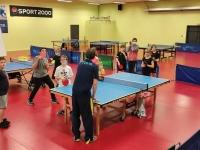 C'est la reprise du tennis de table à Ouroux sur Saône