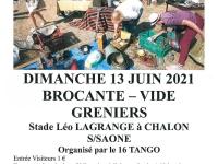 Grande brocante du 16 Tango ce dimanche au Stade Léo Lagrange